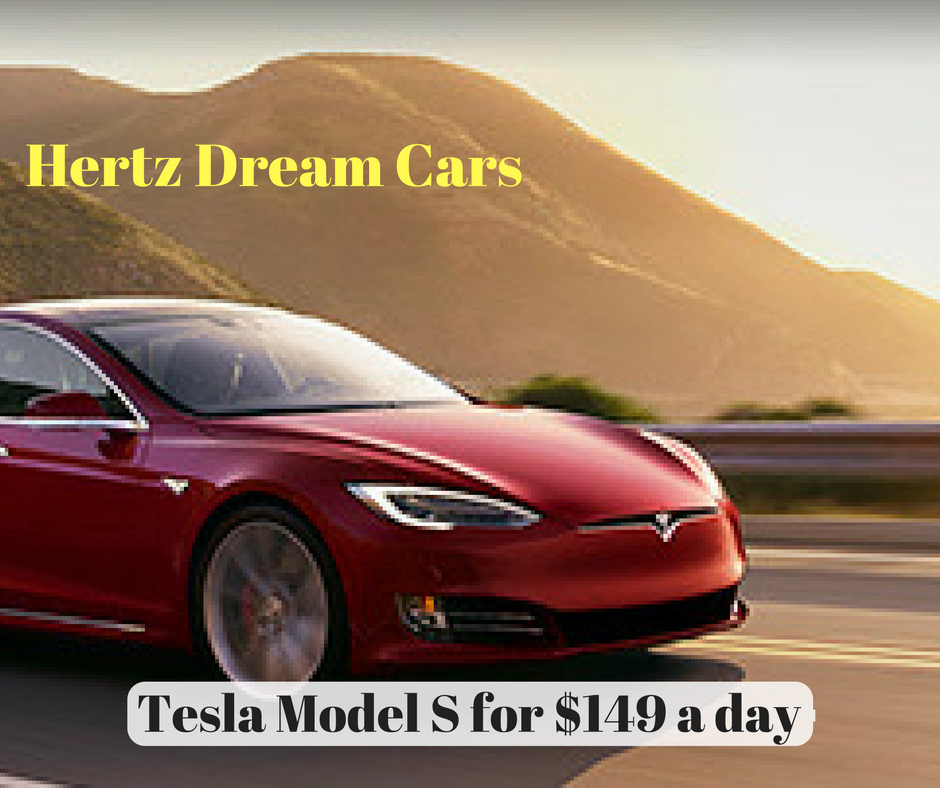 Tesla Car Dream Cars New: Tesla For $149 A Day!