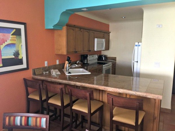 Worldmark by Wyndham Coral Baja kitchen