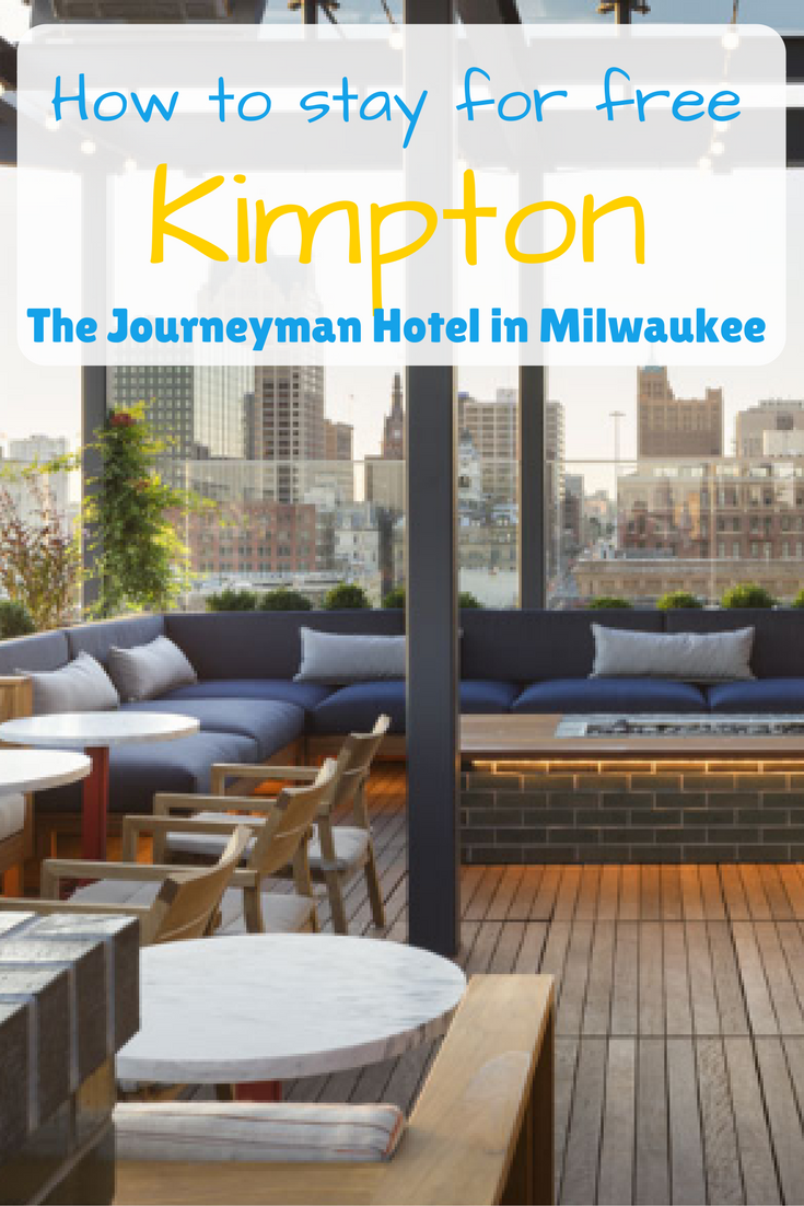 How to get a free night at The Kimpton Journeyman Hotel