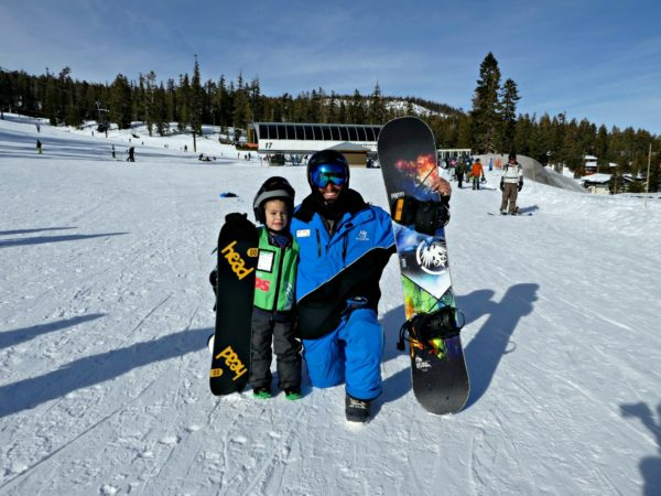 Mammoth Mountain snowboard lessons Day 2 with coach Mike 2000px