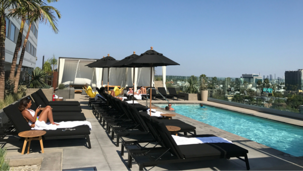 Kimpton Everly Hotel 5th floor pool