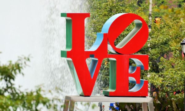 The Philadelphia LOVE sculpture