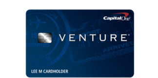 Capital One Venture Card design