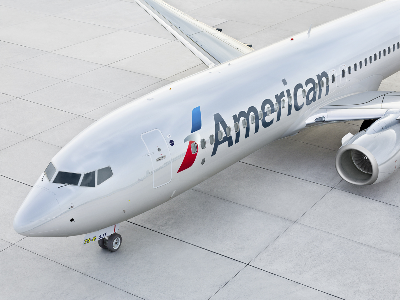 American Airlines 737 Livery